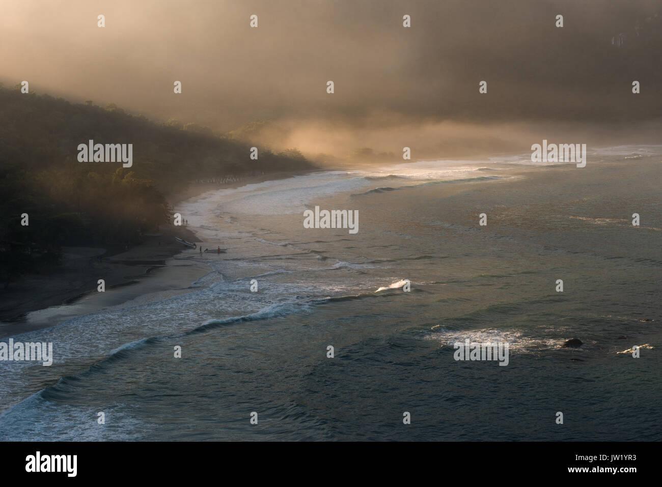 Castelhanos Beach in Ilhabela, Brazil Stock Photo