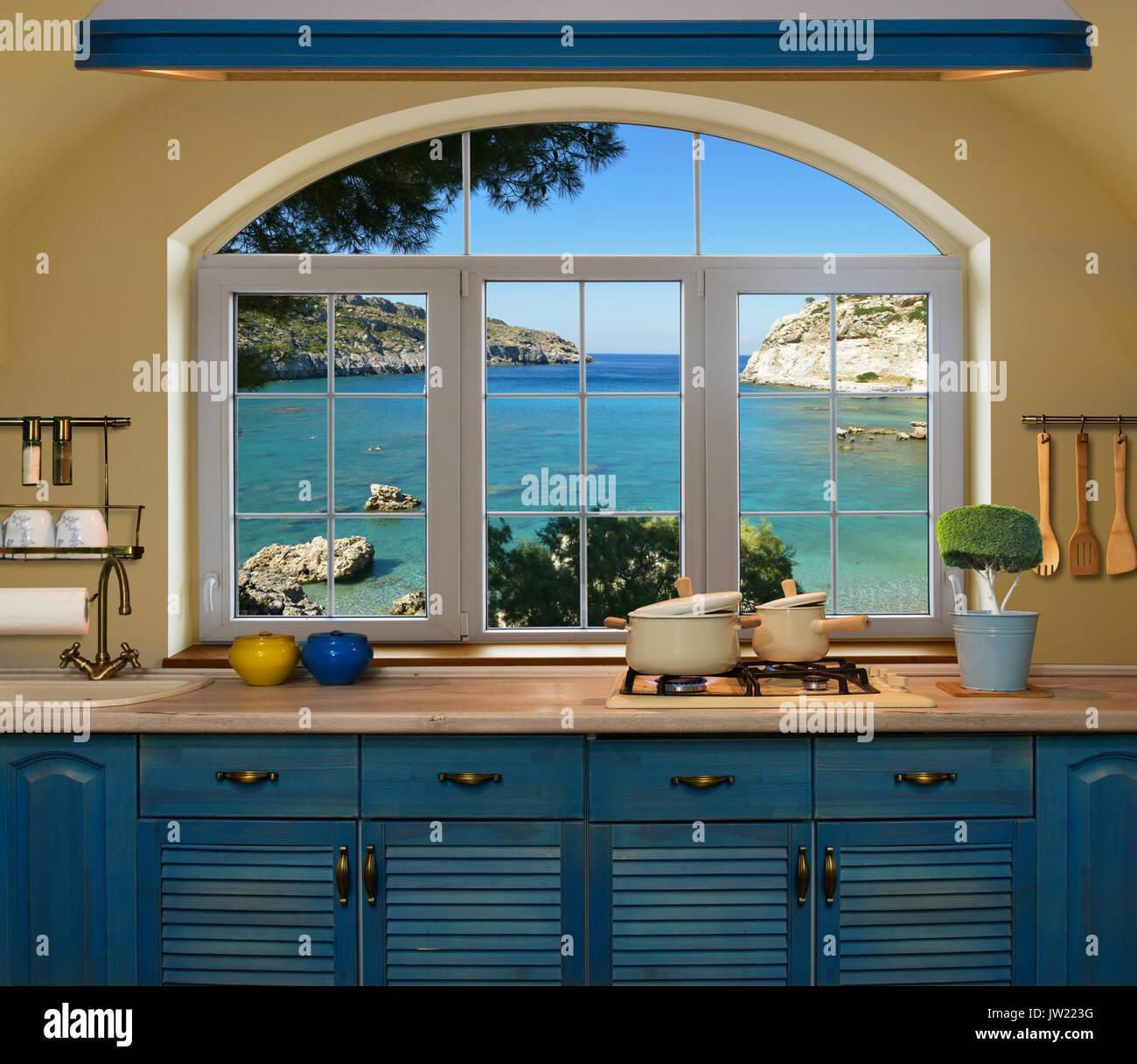 Wooden Worktops Stock Photos & Wooden Worktops Stock Images - Alamy