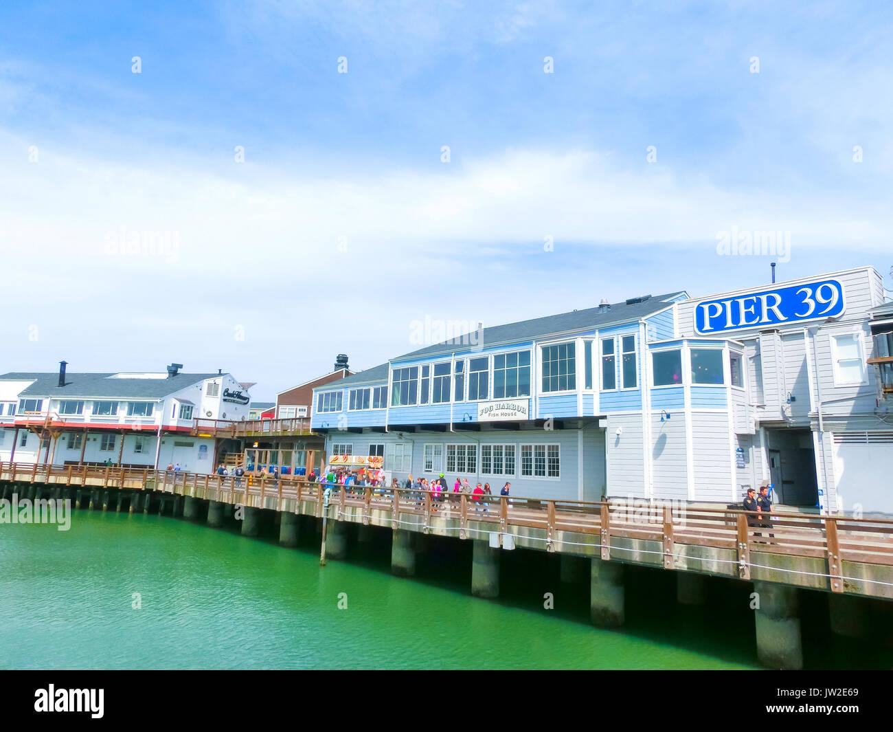 Pier  Cafe San Francisco Ca