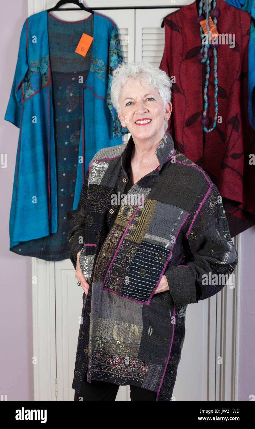 889cbb95400d Mature Woman Dressing Room Stock Photos   Mature Woman Dressing Room ...