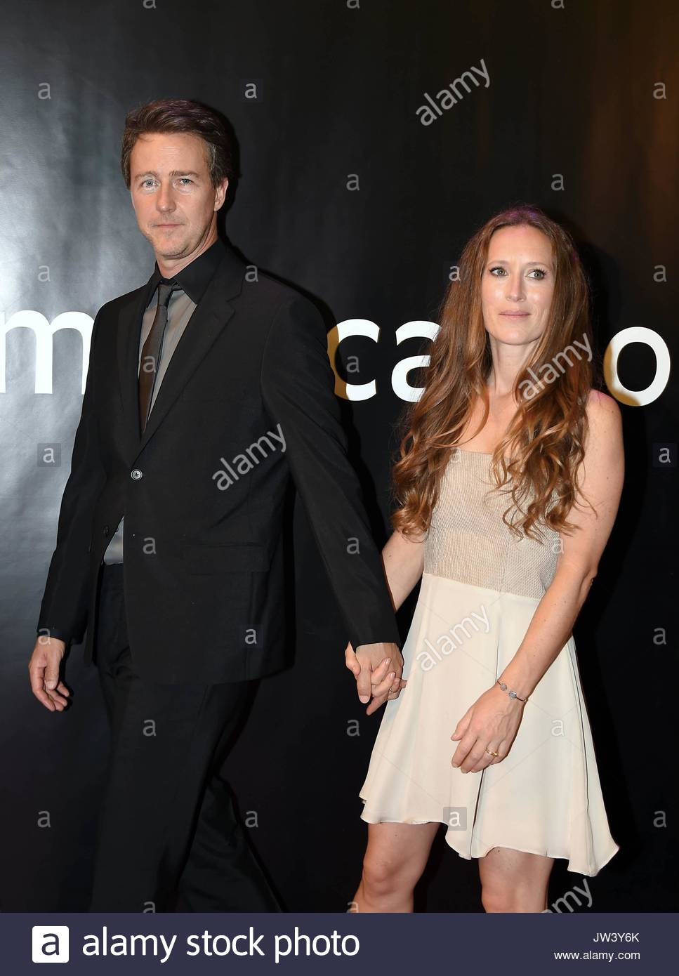Actor Edward Norton an...