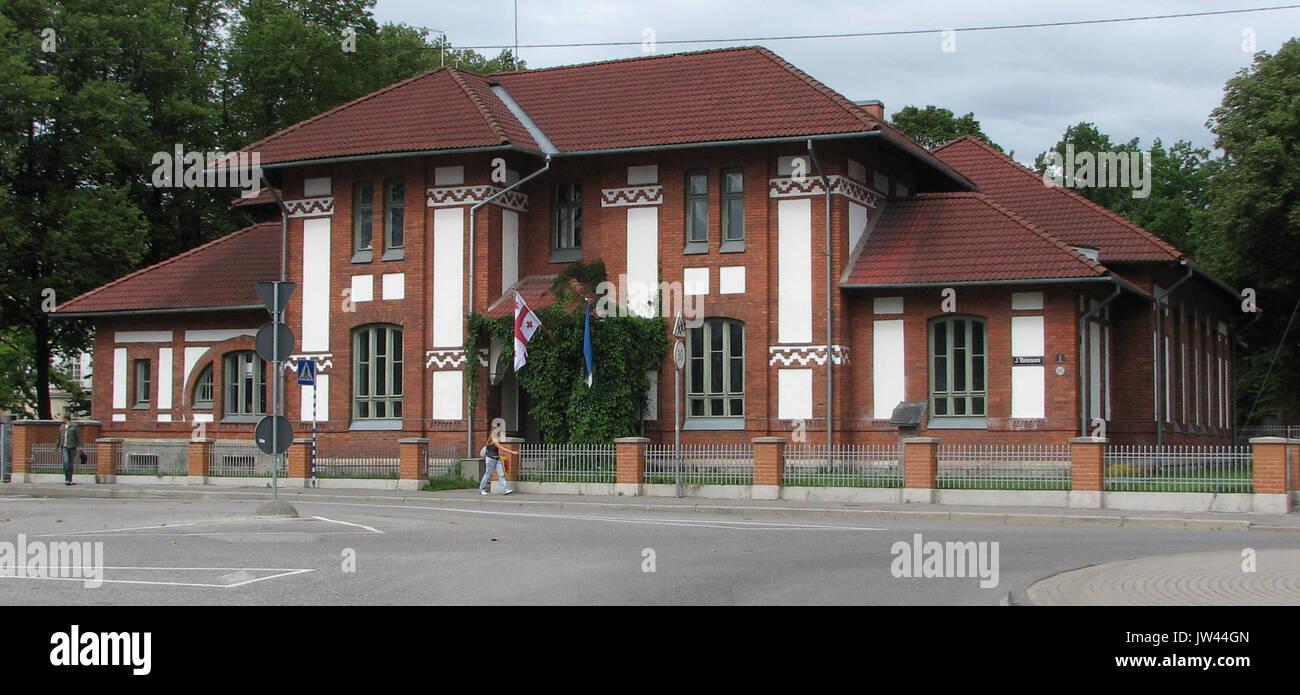 Building of Estonian Students' Society - Stock Image