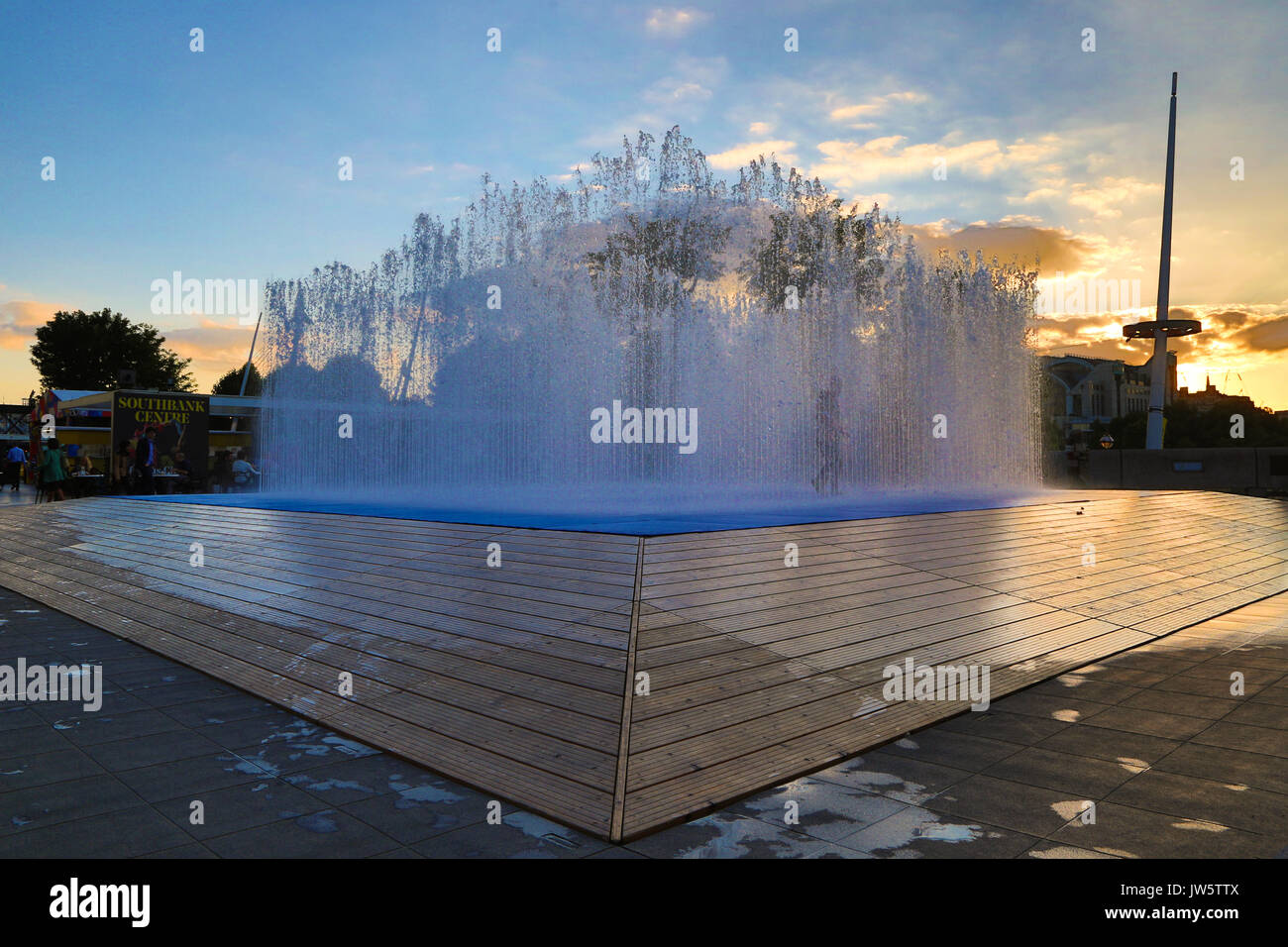 Jeppe Hein Appearing Rooms London