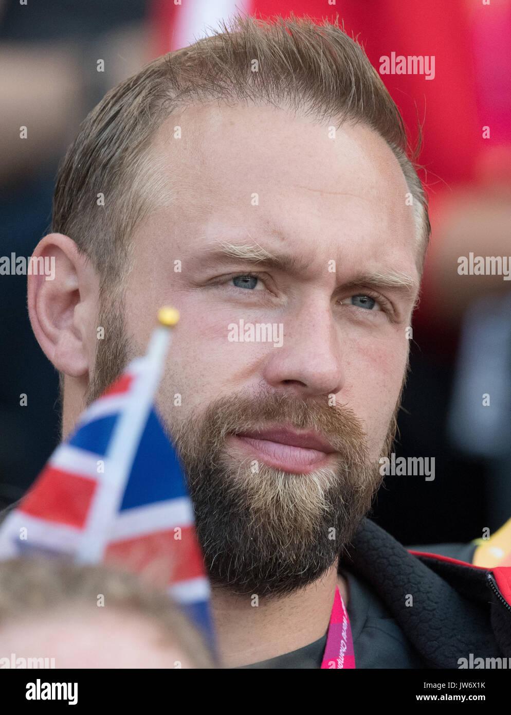 London Uk 11th Aug 2017 German Discus Thrower Robert Harting