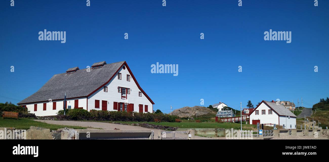 America, Canada, Quebec, Gaspésie, Percé city - Stock Image