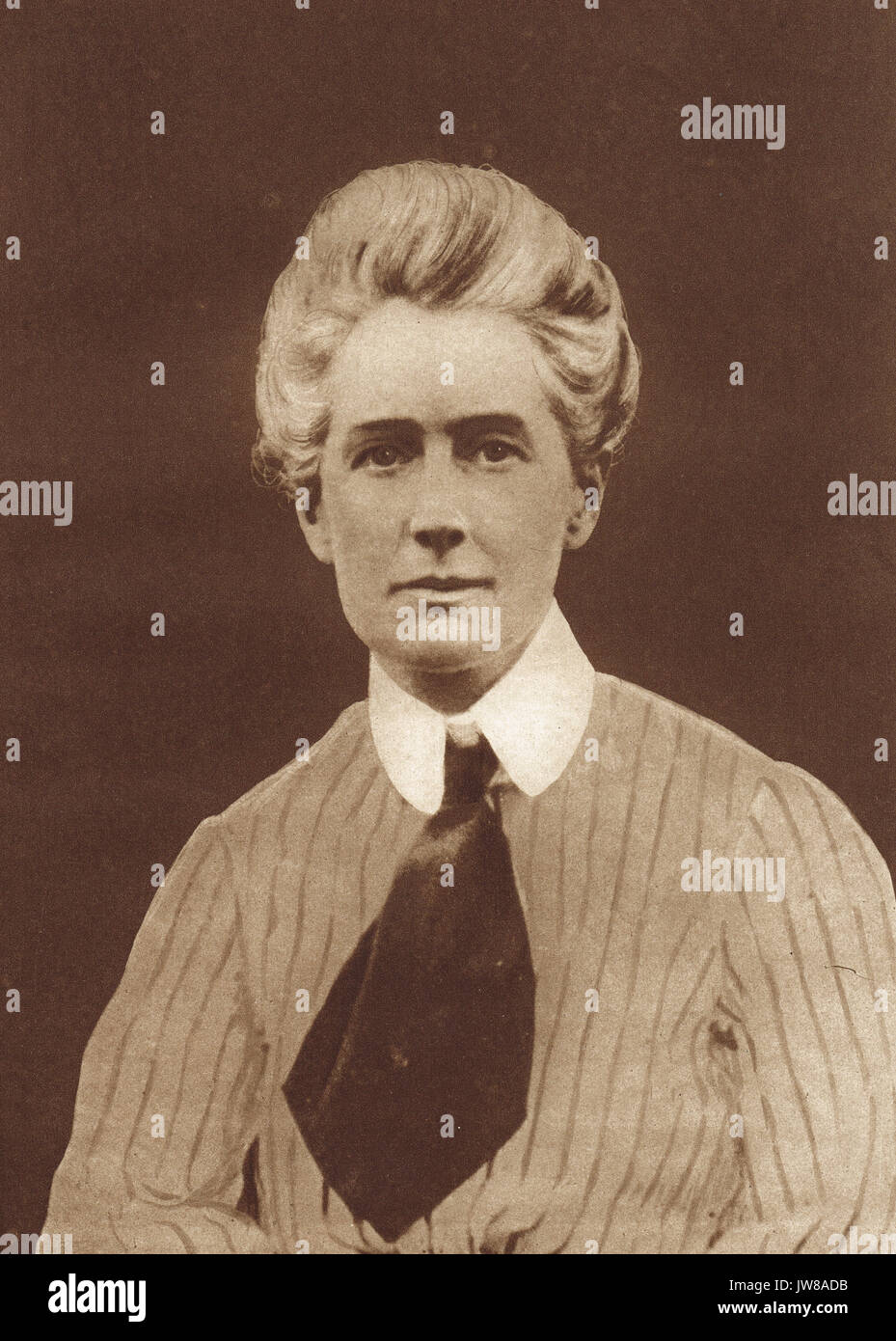 Nurse Edith Cavell Heroine and Martyr - Stock Image