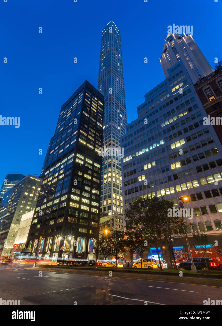 432 Park Avenue - Stock Image