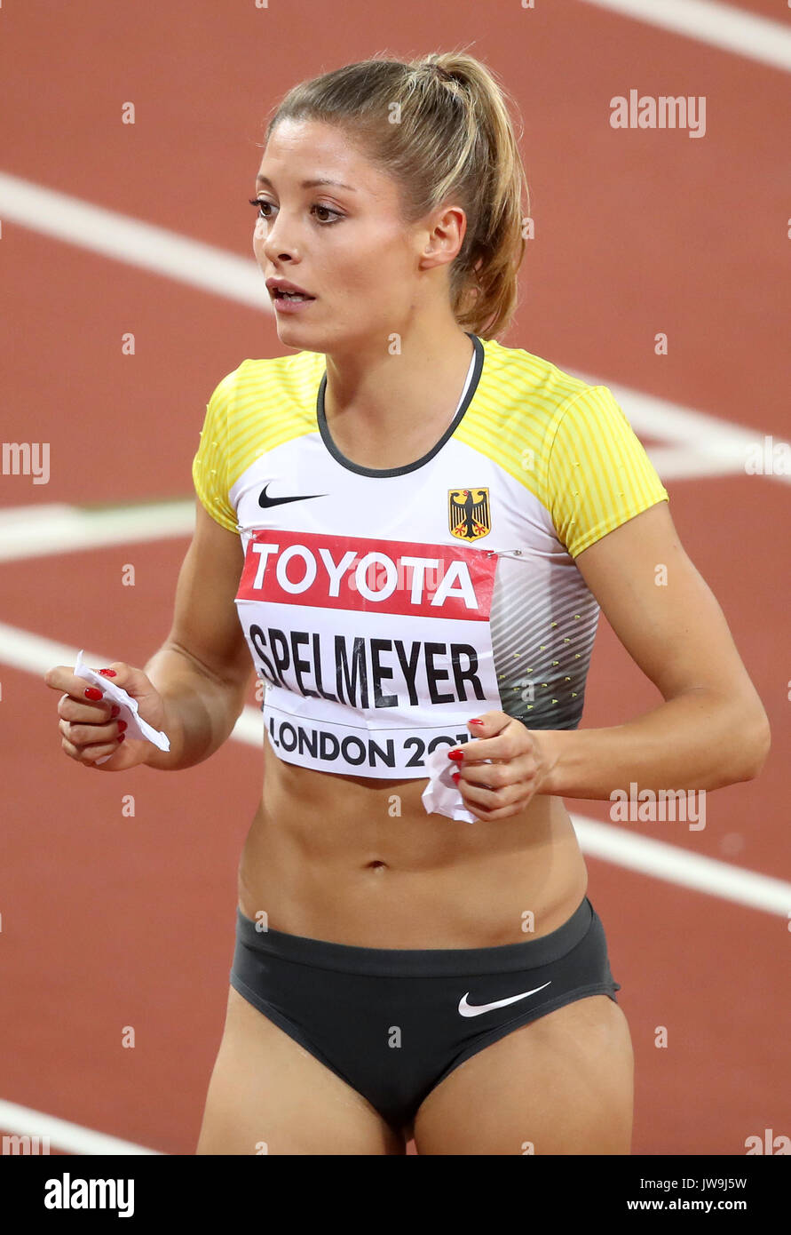 Turnschuhe 2019 Ausverkauf gutes Angebot Germany's Ruth Sophia Spelmeyer after competing in the ...