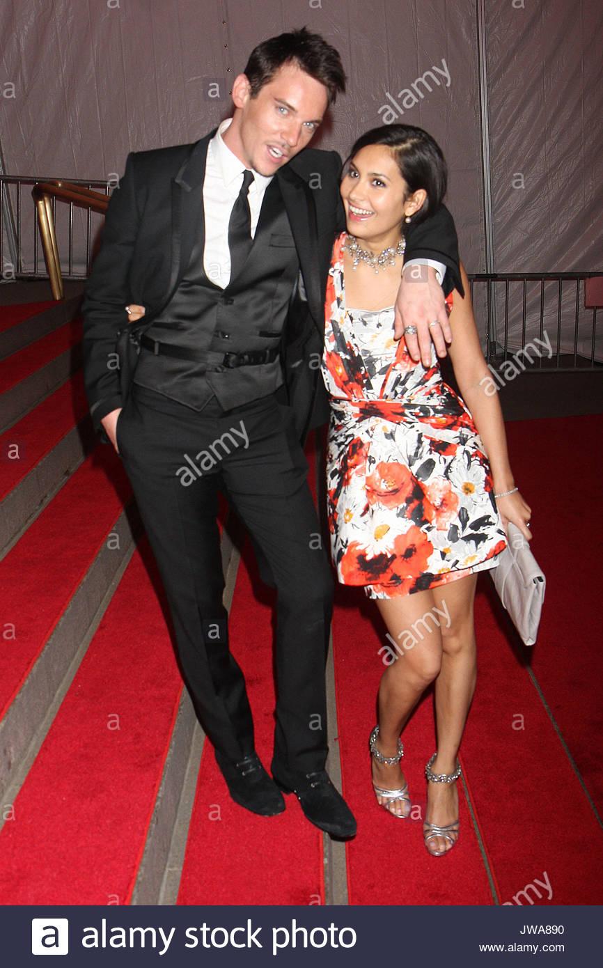 """Johnathan Rhys Meyers and Reena hammer at the """"Superheroes ..."""