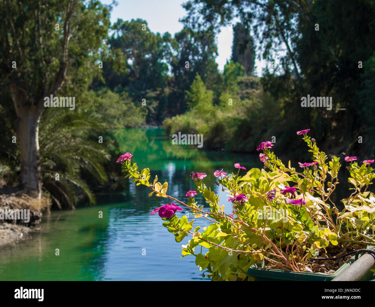 Jordan River Stock Photo