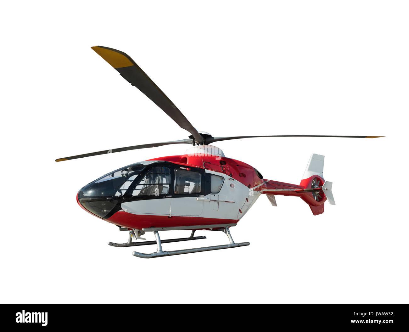 Ambulance helicopter - Stock Image