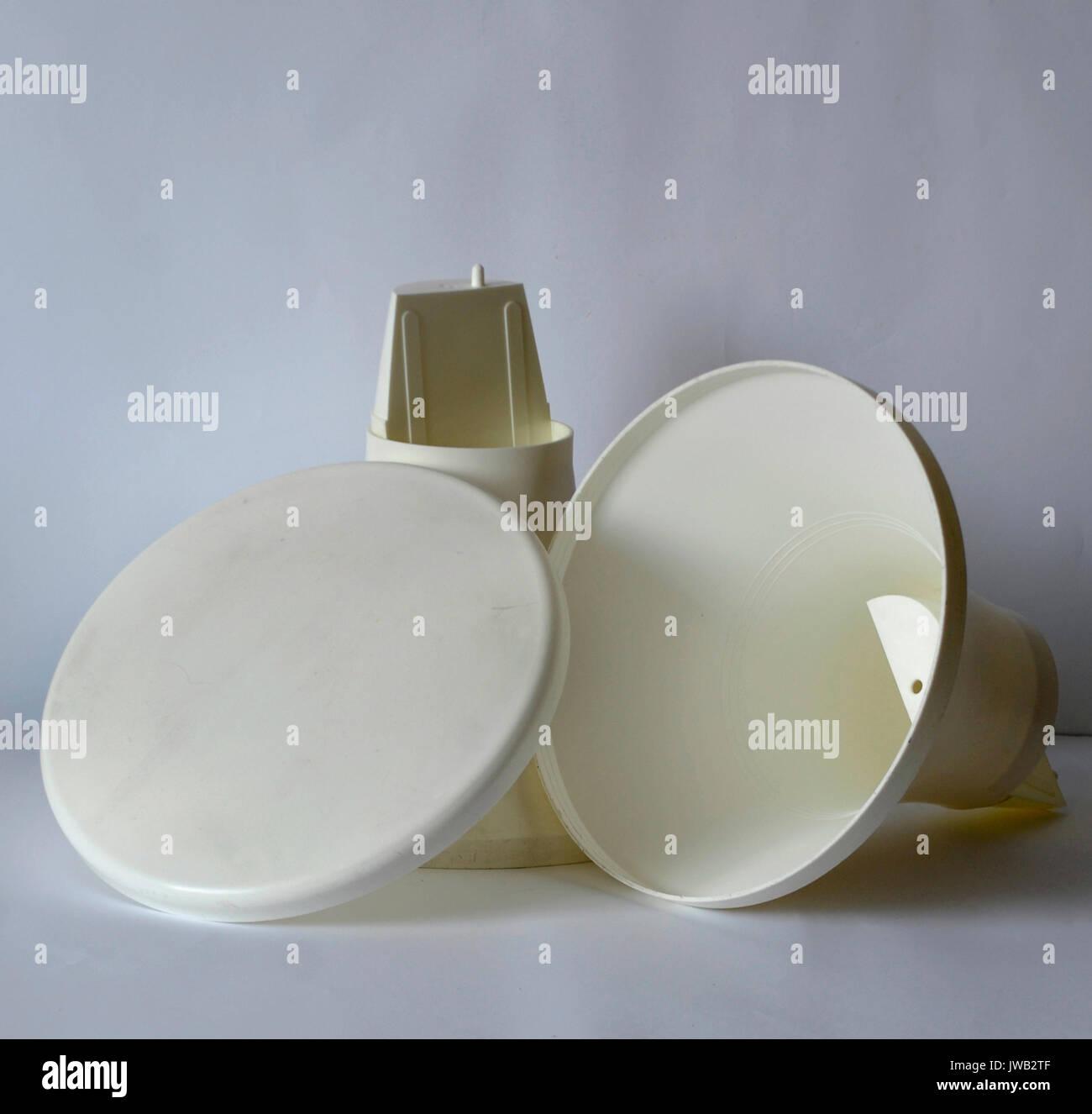Tabouret Tam Tam Original tam tam white stool. original from the 70s. kaplax brand