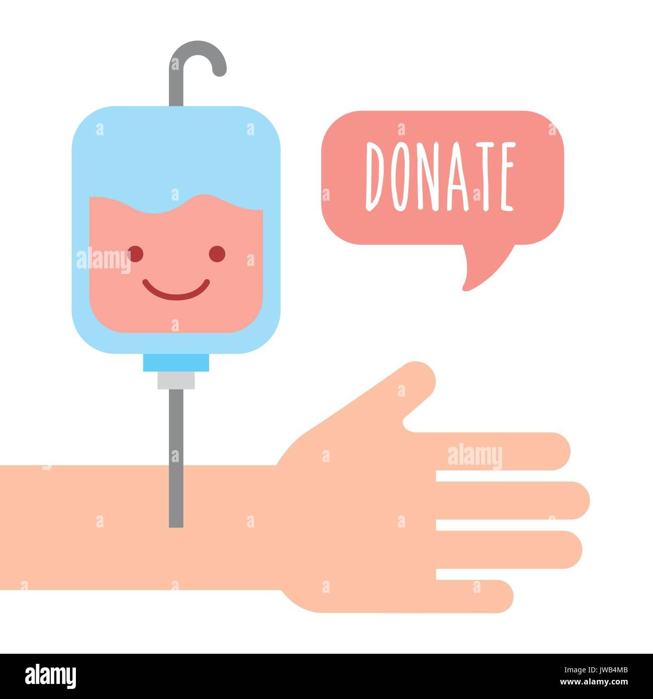 donate children money - Stock Image