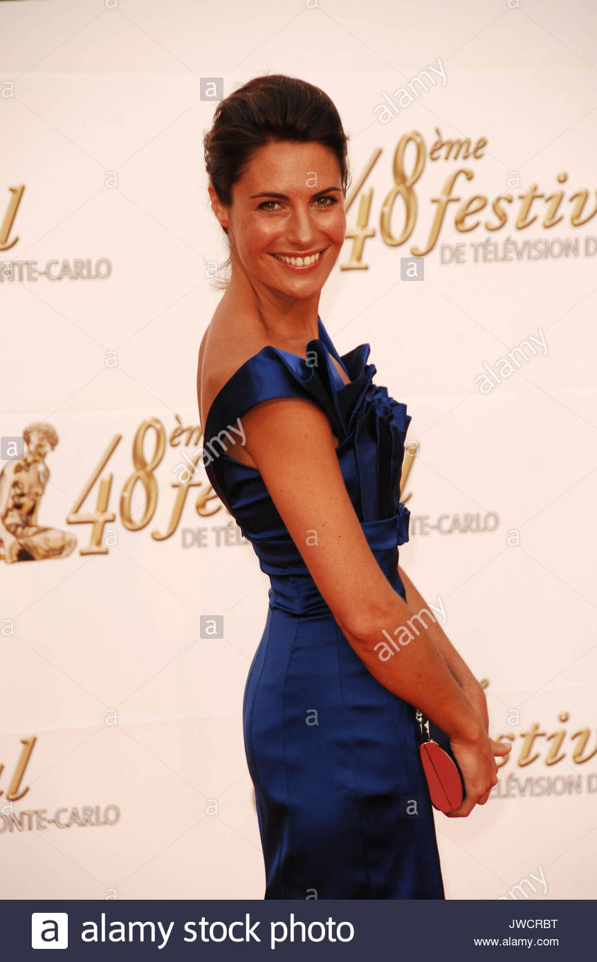 Perfect Alessandra Sublet At The Monte Carlo TV Festival.