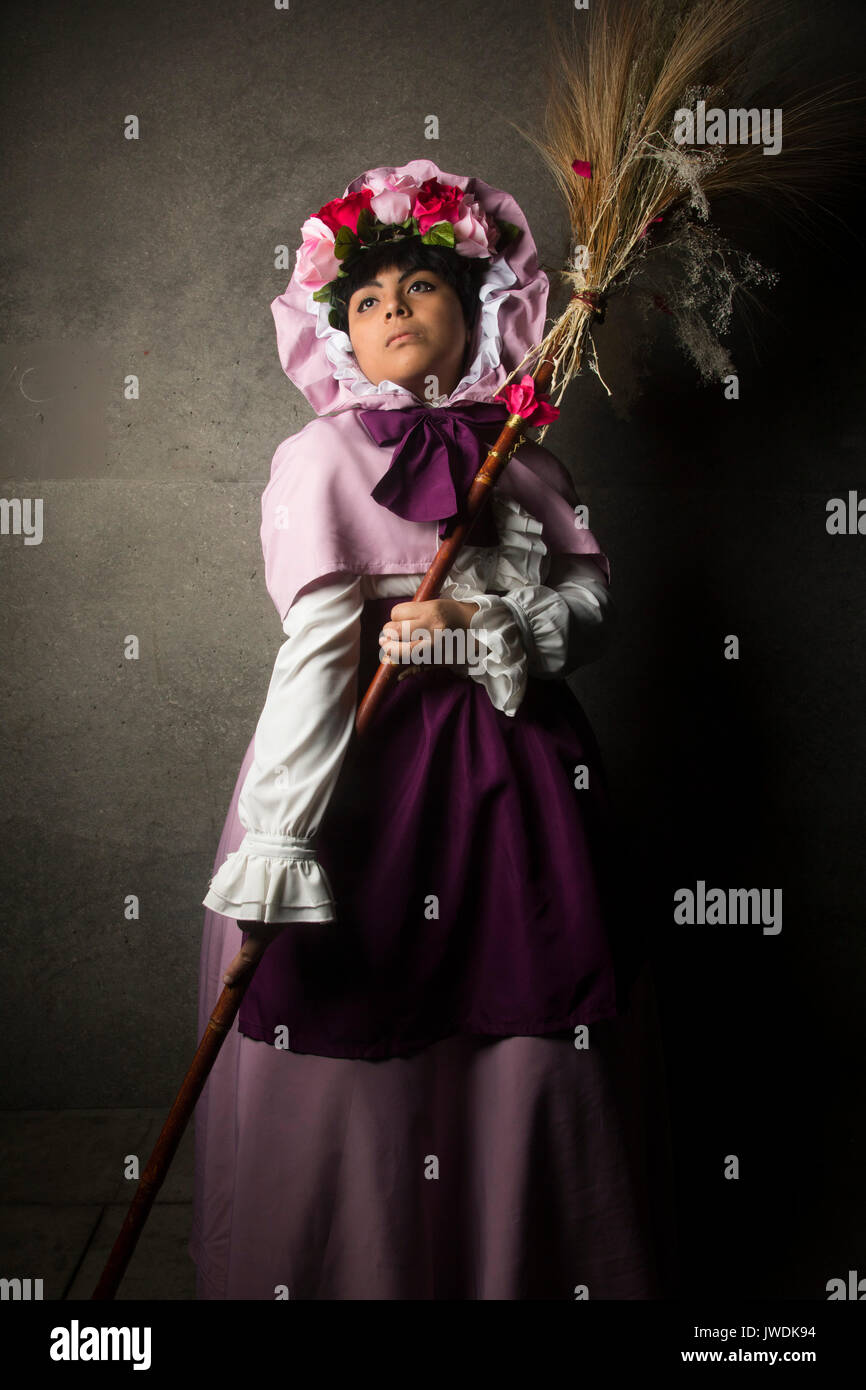 Cosplay, 2017 Anime Expo, Los Angeles Convention Center, Los Angeles, California, USA - Stock Image