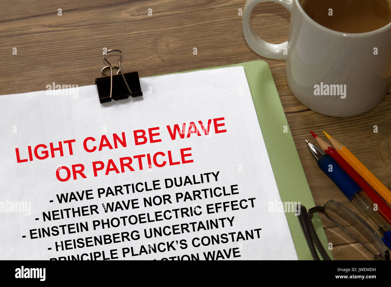 Wave Particle Duality Stock Photos & Wave Particle Duality Stock