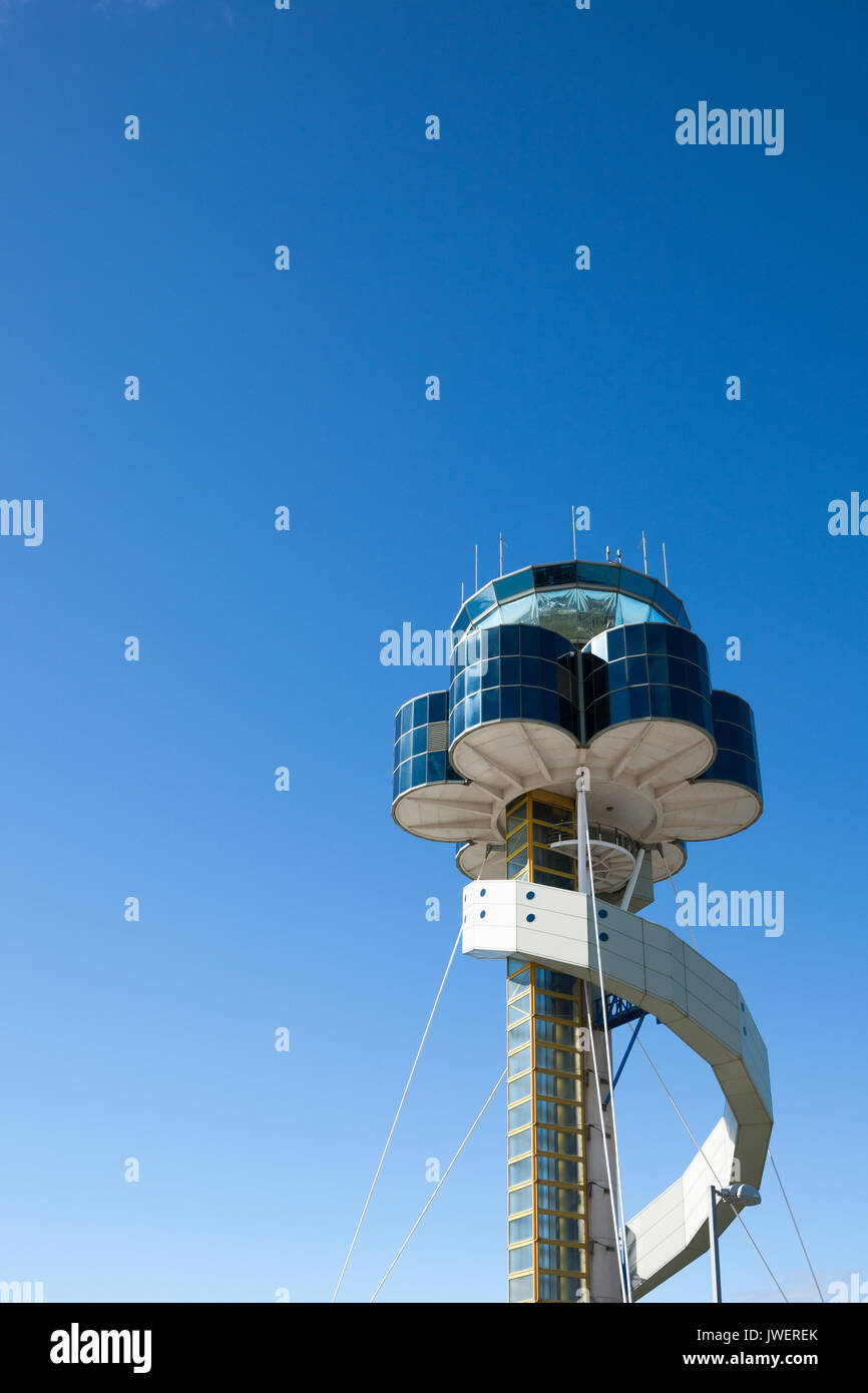 Sydney Airport air traffic control tower. Stock Photo