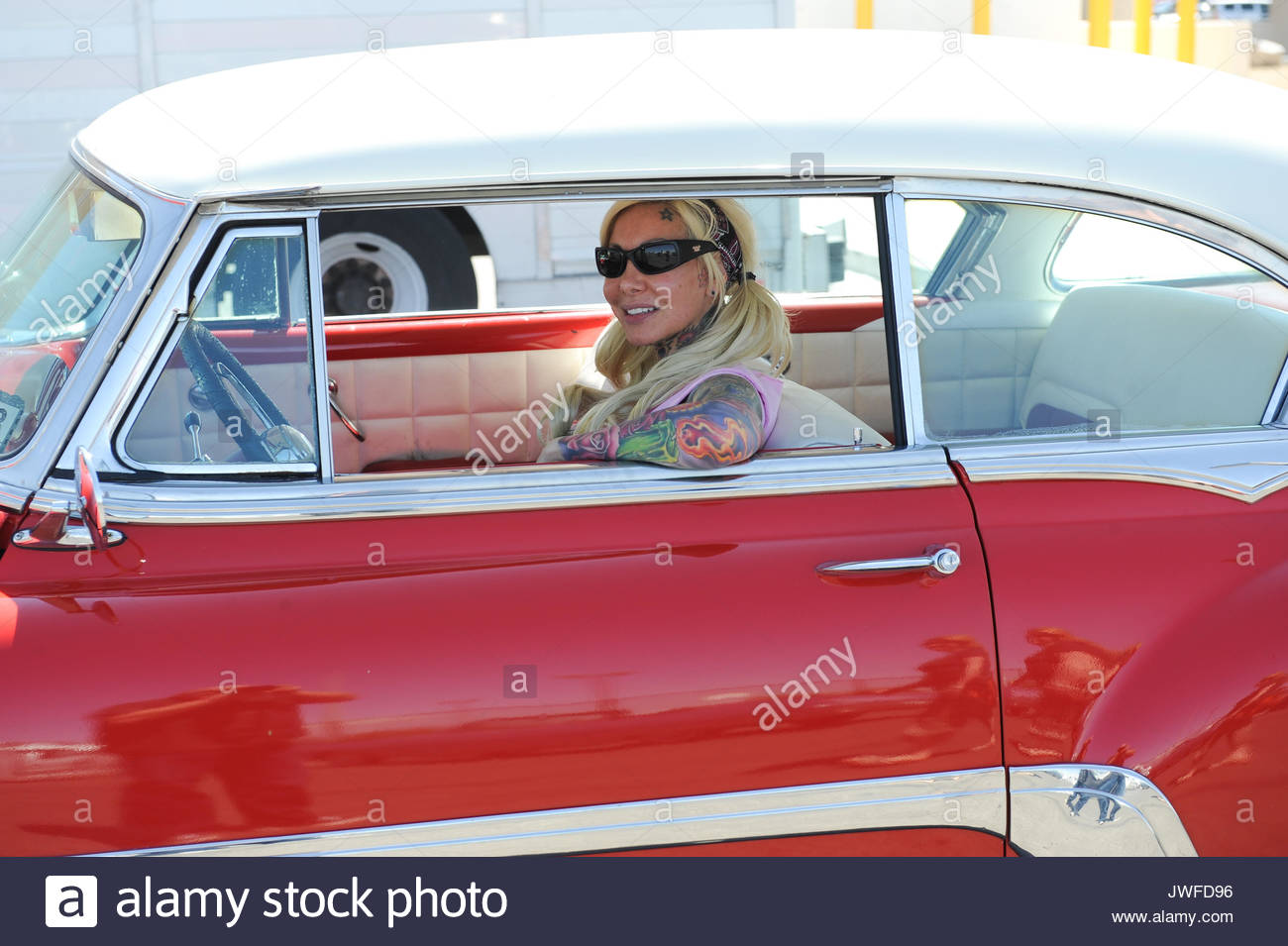 Scenes From Viva Las Vegas Rockabilly Weekend Car Show Day One At - Vegas rockabilly car show