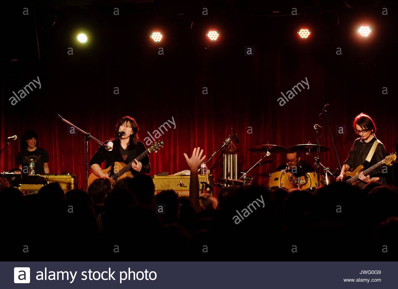 Kim Deal Of The Breeders Performs At The Bell House In The Brooklyn Borough  Of New York City.
