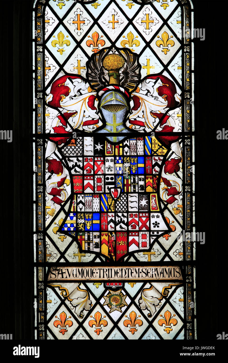 Heraldic Arms Stained Glass Stock Photos Amp Heraldic Arms