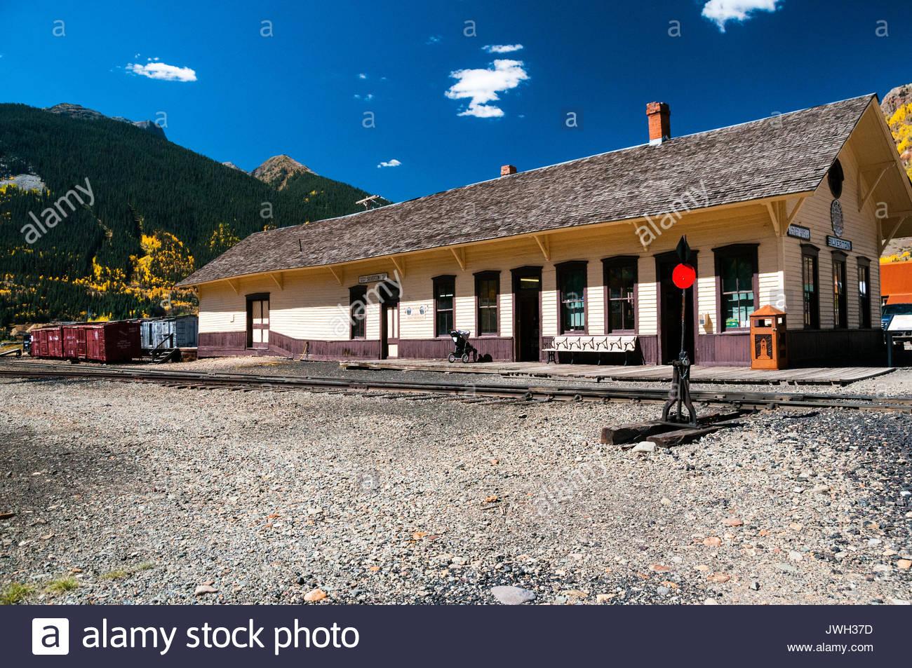 Durango silverton narrow gauge railroad stock photos for The silverton