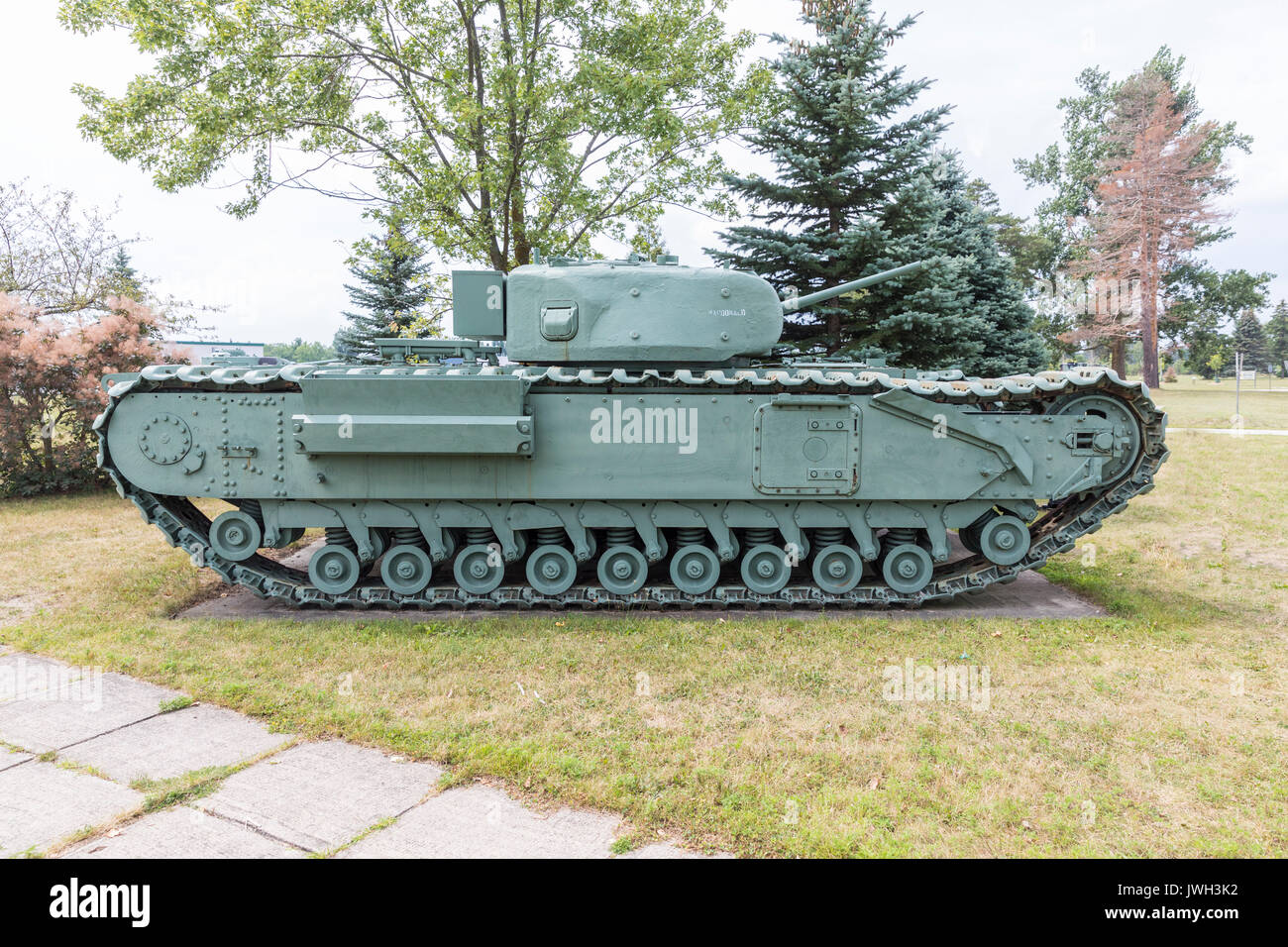 Military Armoured Vehicles - Stock Image