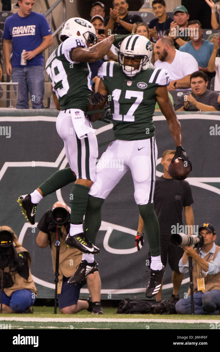 best wholesaler 31d8e 64793 August 12, 2017, New York Jets wide receiver Charone Peake ...