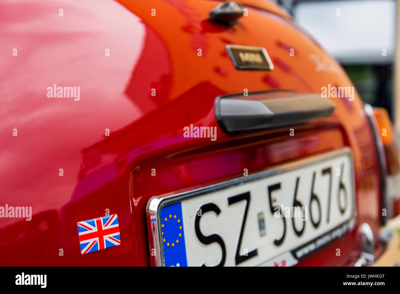 Bielsko-Biala, Poland. 12th Aug, 2017. International automotive trade fairs - MotoShow Bielsko-Biala. Credit: Lukasz Stock Photo