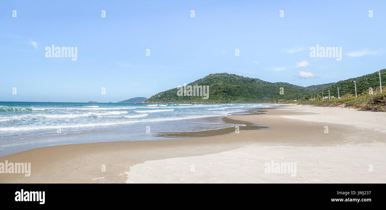 Brava Beach - Florianopolis, Santa Catarina, Brazil - Stock Image