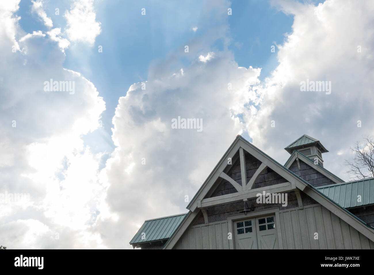 Gable Roof Stock Photos Amp Gable Roof Stock Images Alamy