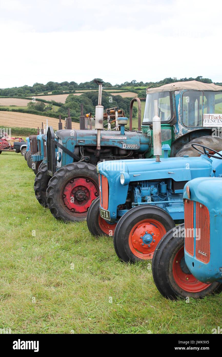 blue tractors stock photos blue tractors stock images alamy