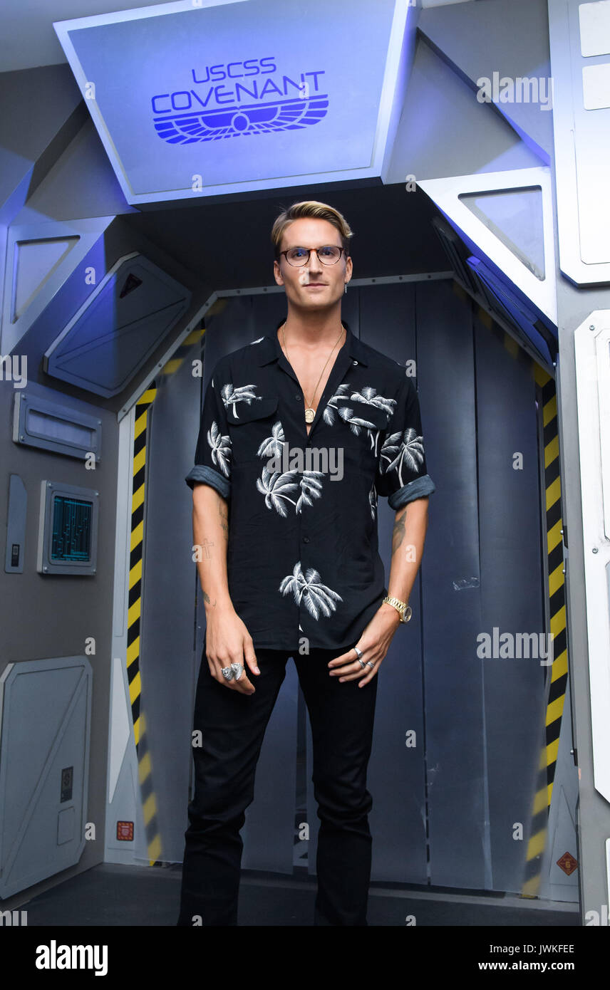 Celebrities attend the launch of  Alien Escape at Madame Tussauds London  Featuring: Oliver Proudlock Where: London, Stock Photo