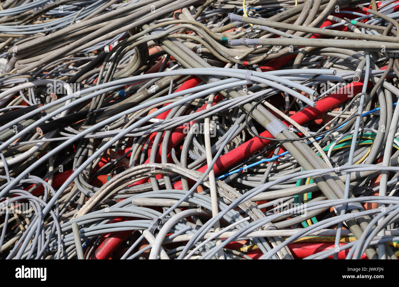 Wires Scrap Copper Stock Photos & Wires Scrap Copper Stock Images ...