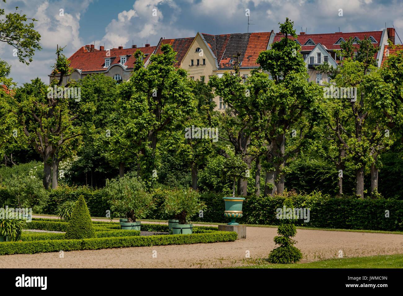 Charlottenburg Palace Berlin Germany Stock Photo