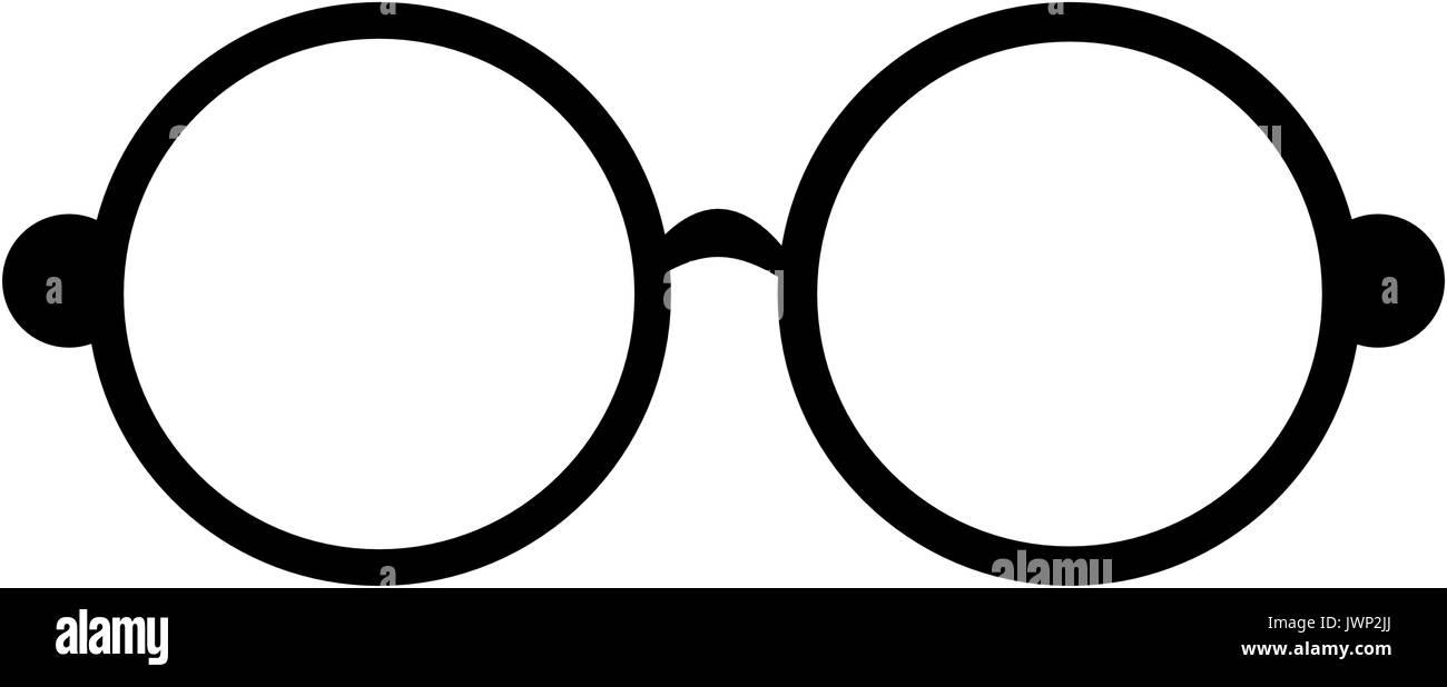 f7206405dd Hippie fashion glasses icon vector illustration graphic design Stock ...