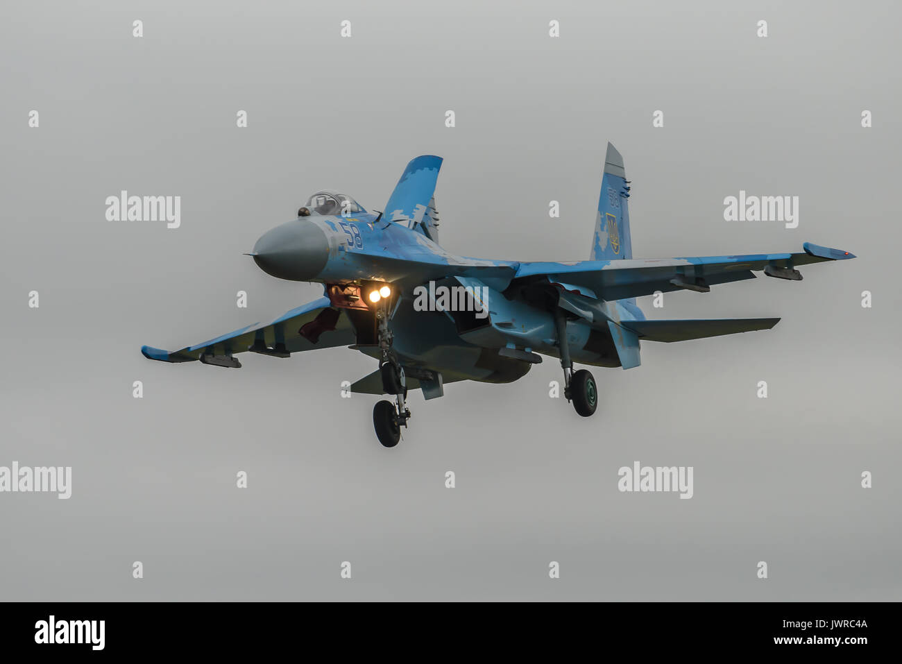 SU-27 Flanker - Stock Image
