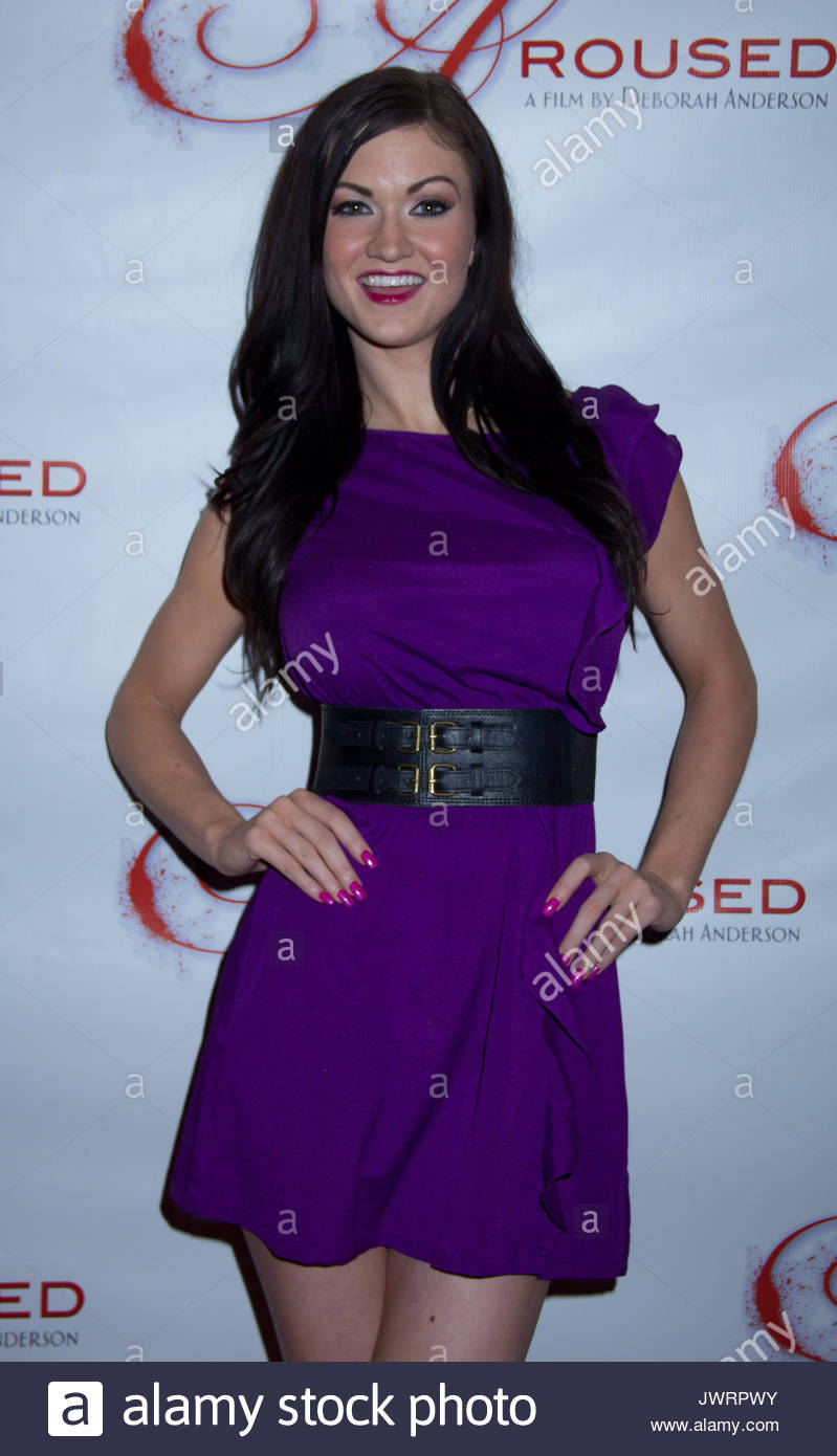 Kendall Karson Adult Film Stars Arrive For The Red Carpet Premiere Of Deborah Andersons Aroused At The Landmark Theatre In Los Angeles Ca