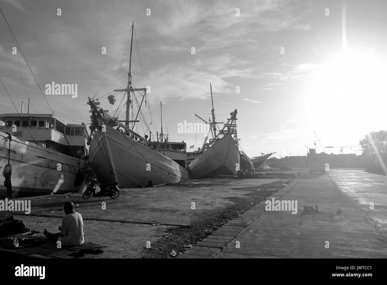 harbor - Stock Image