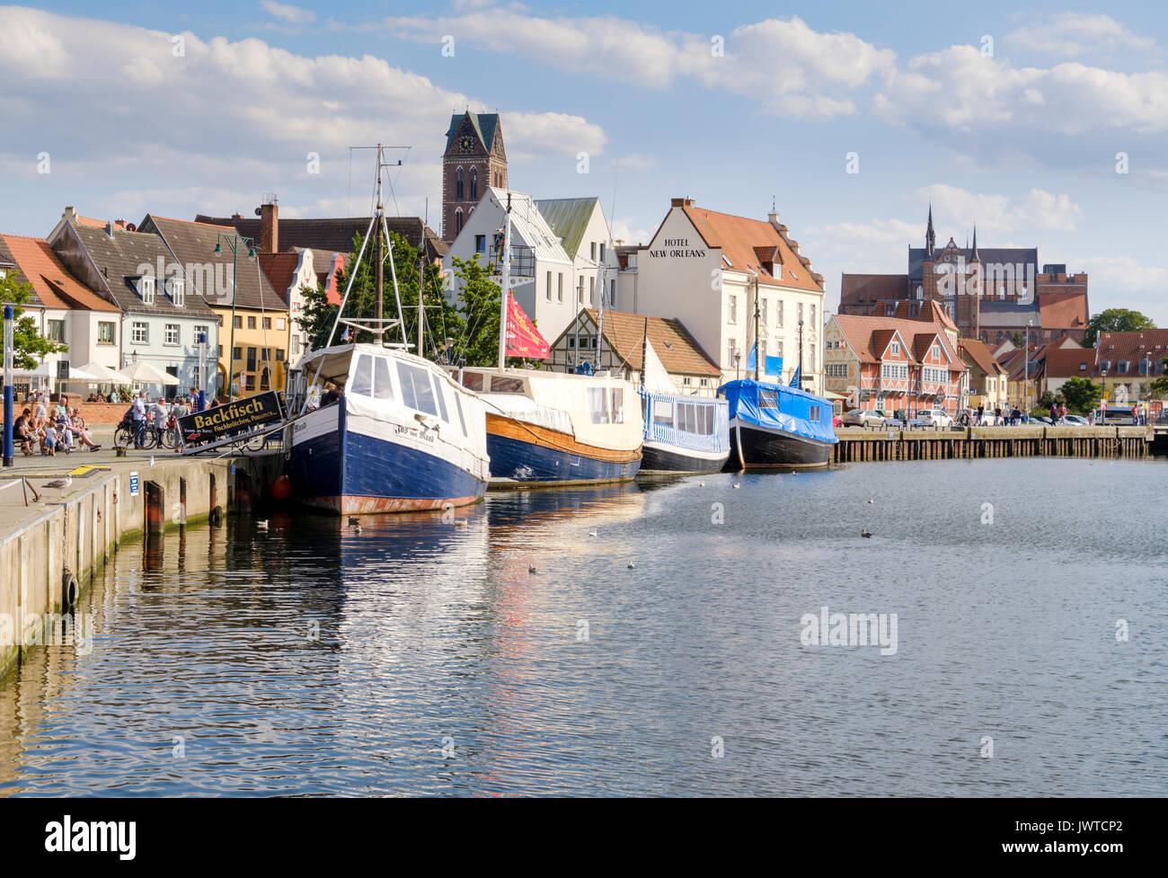 Wismar, Mecklenburg-Vorpommern, Germany - Stock Image