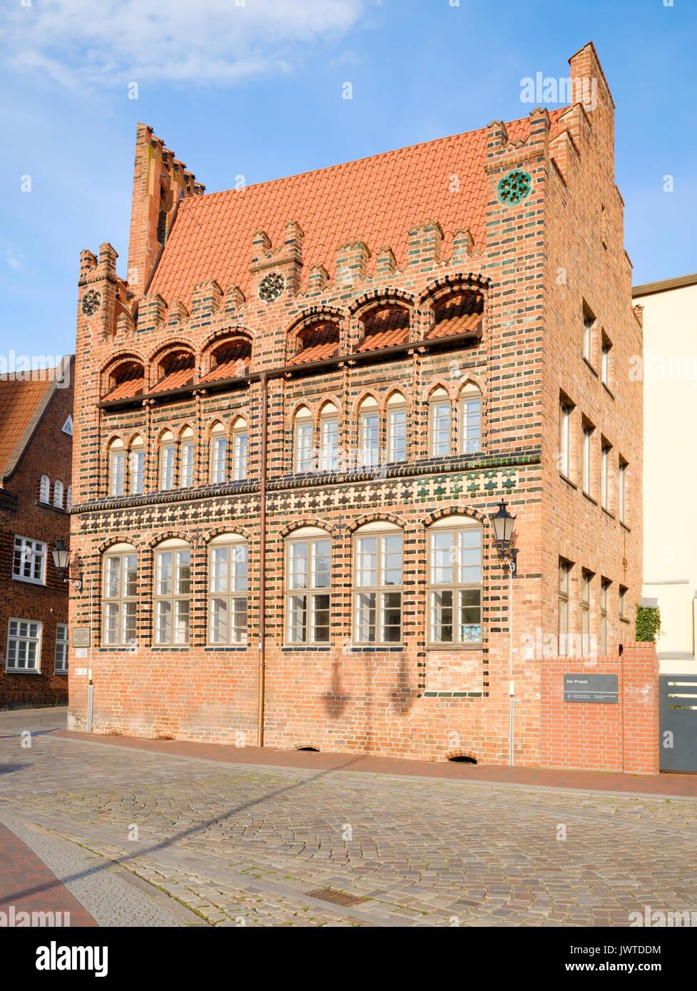 Archidiakonat, Wismar, Mecklenburg-Vorpommern, Germany - Stock Image
