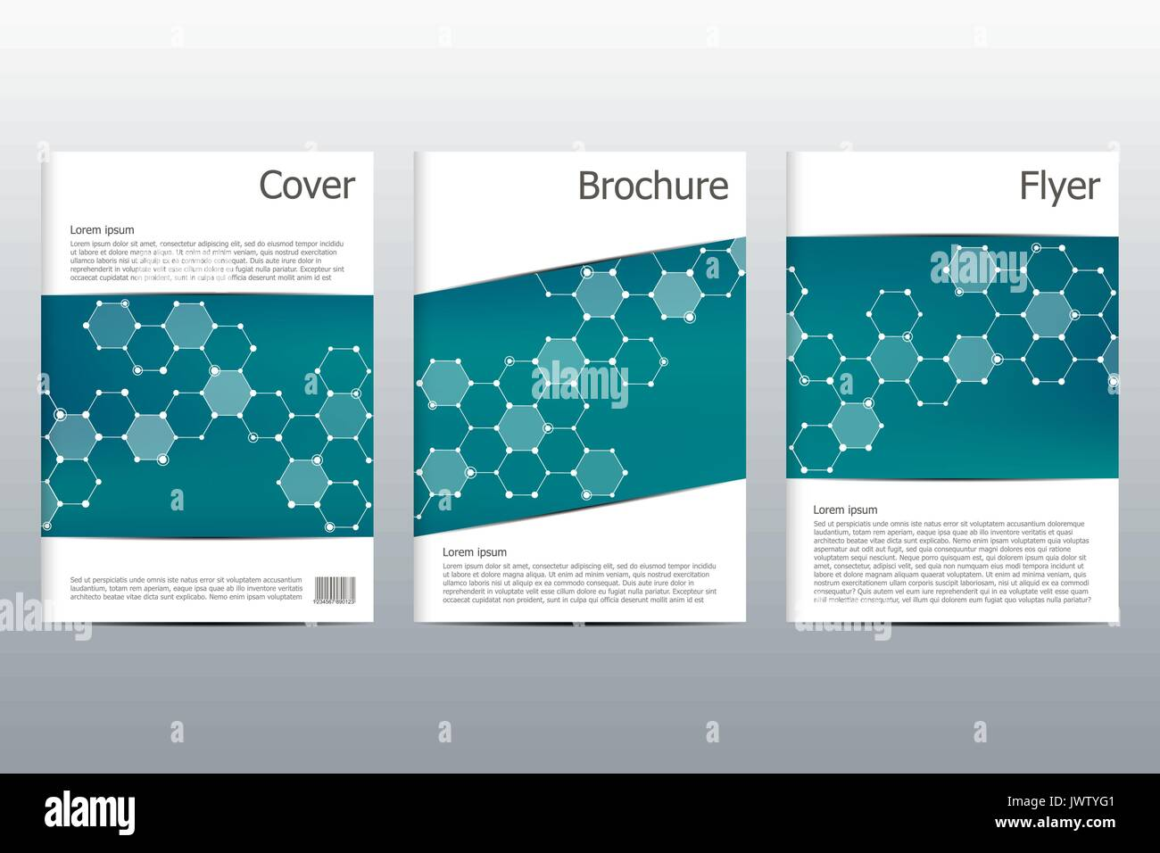 brochure template layout flyer cover annual report magazine in