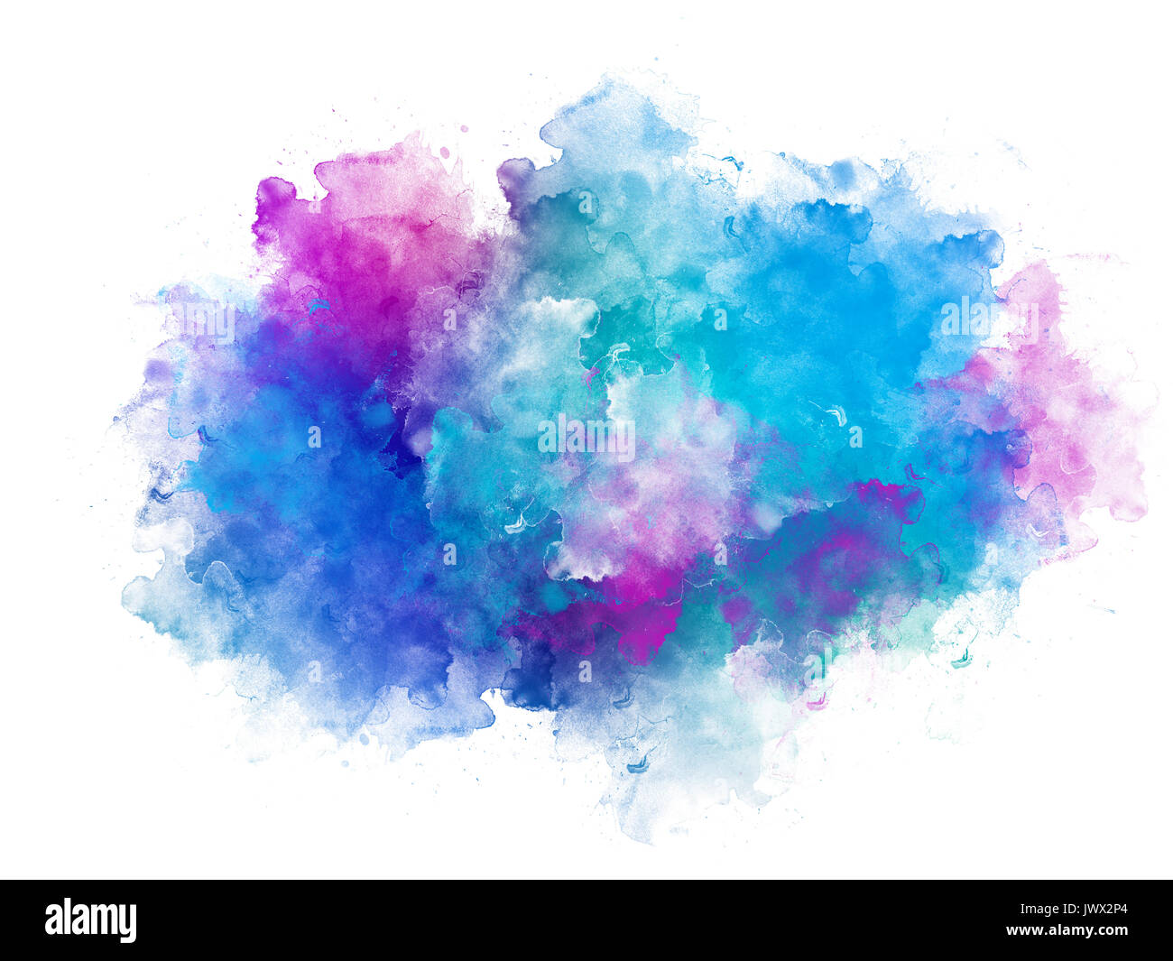 Color Painting Watercolor Splash Background Color Clipart: Pink Watercolor Splash Cut Out Stock Images & Pictures