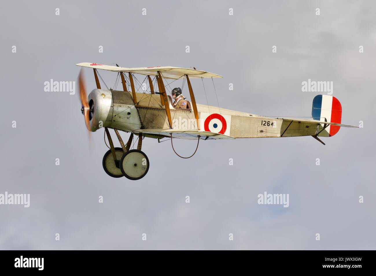 Bristol Scout Type-C the only flying example in the world - Stock Image