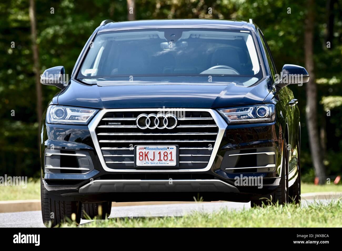Audi Quattro Q7 - Stock Image