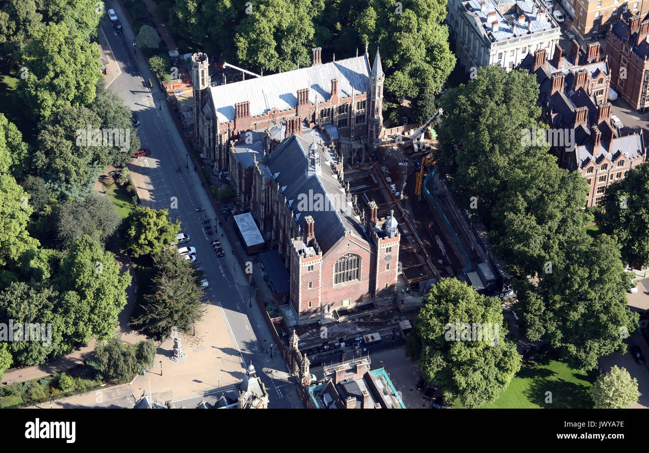aerial view of Lincoln's Inn Field, London WC2A, UK Stock Photo