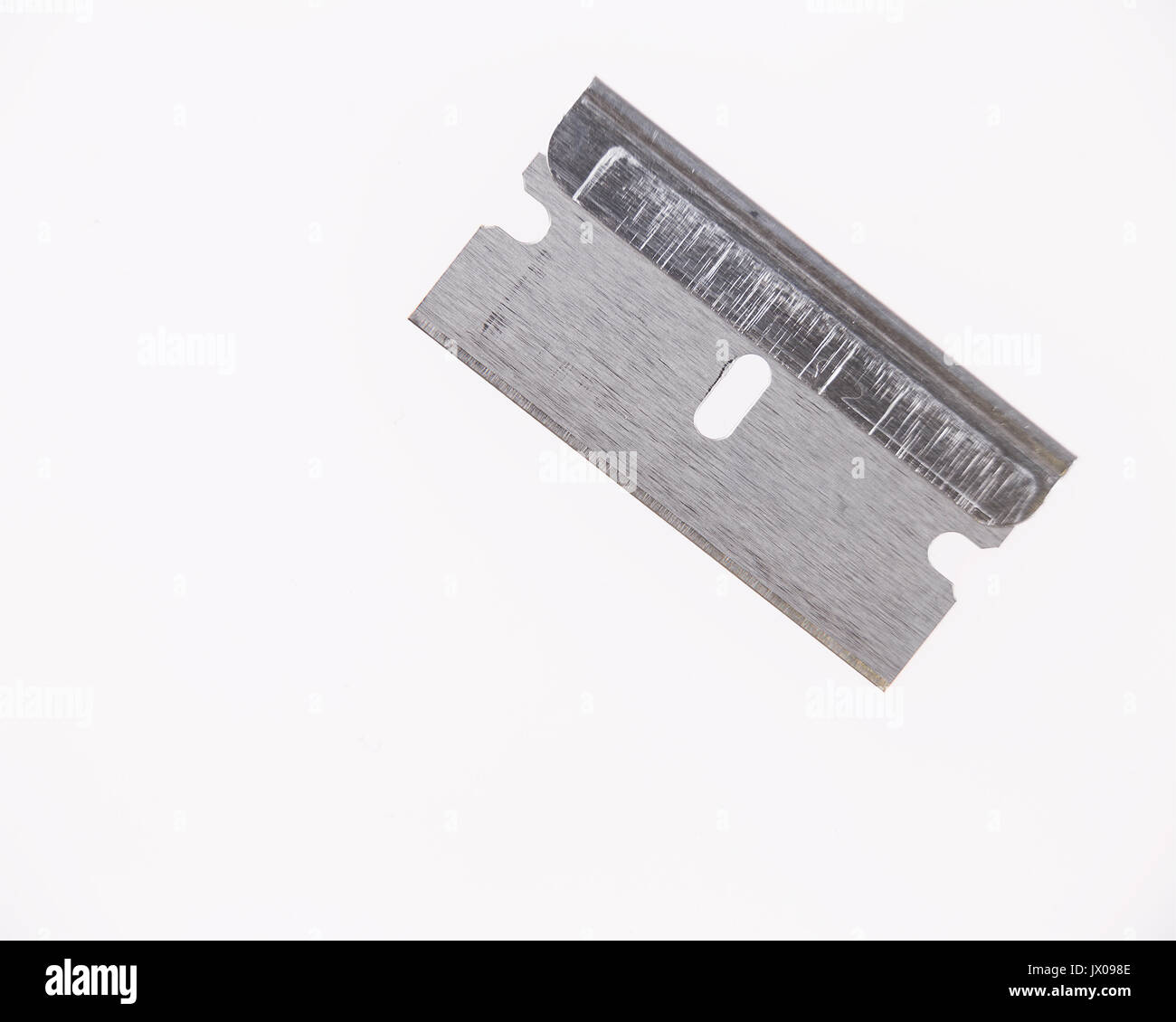 Isolated Razor Blade - Stock Image
