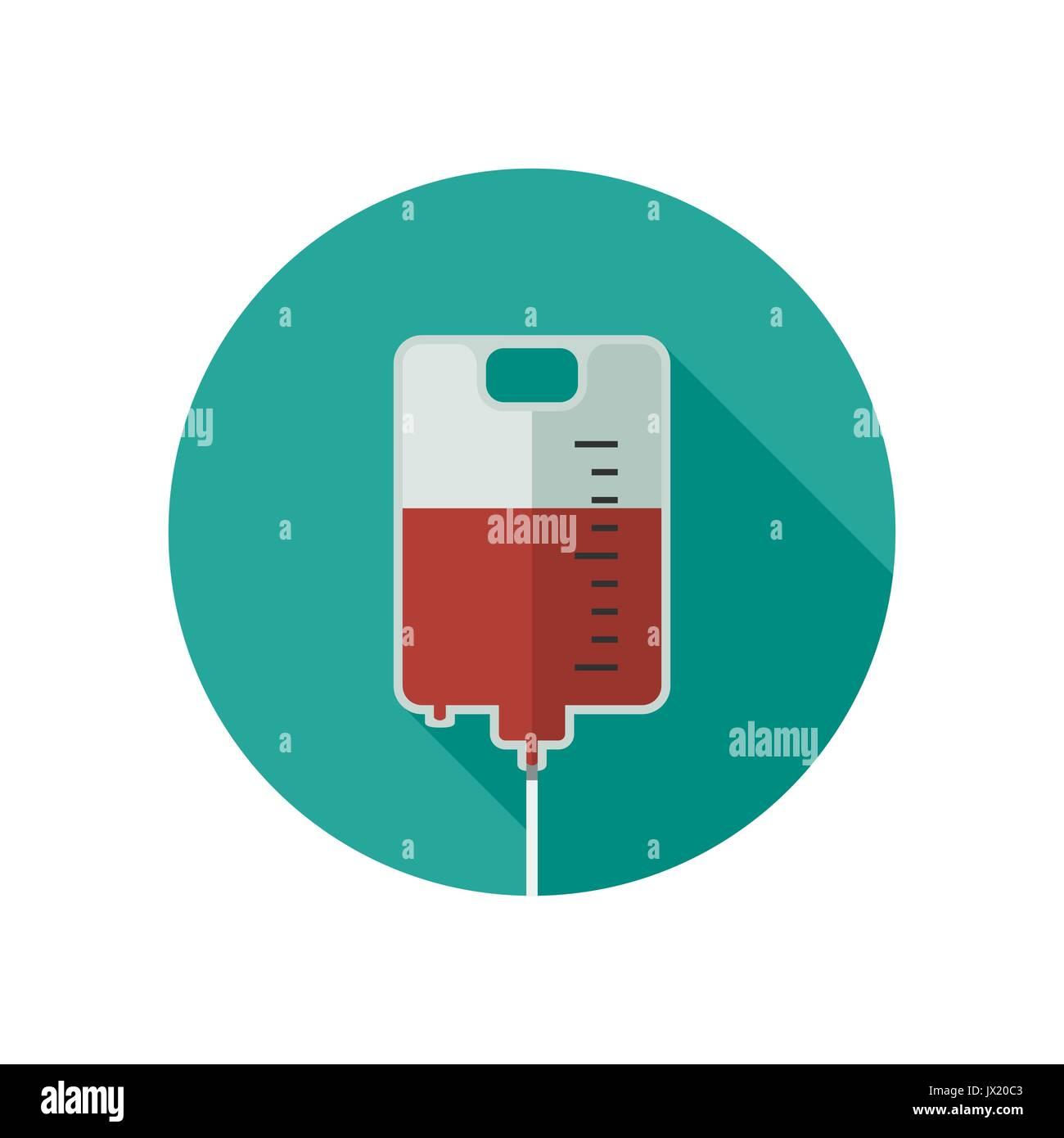 Donate blood icon. - Stock Image