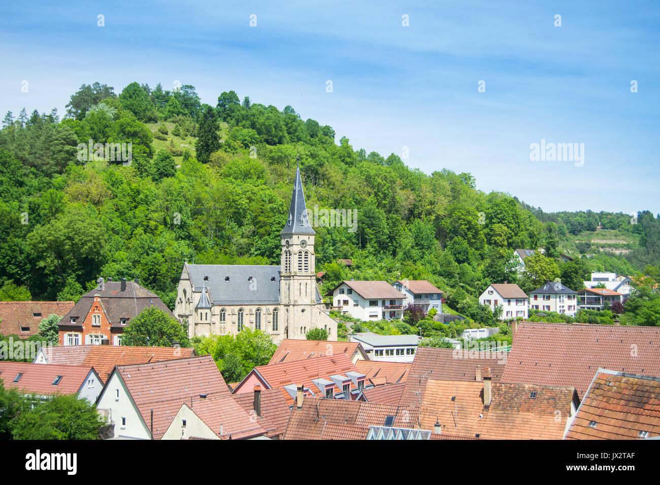 Horb am Necker - Stock Image
