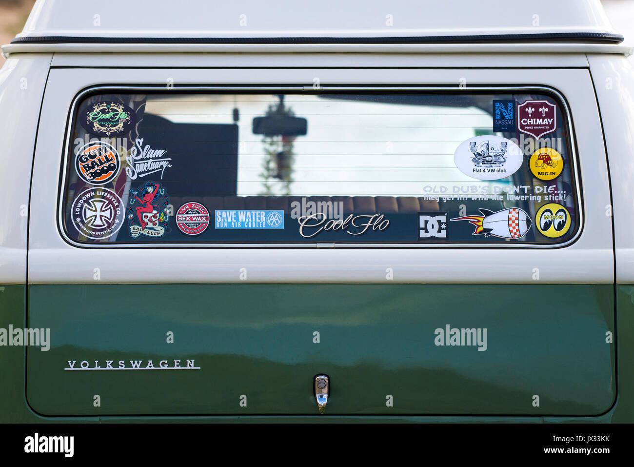 Car Window Stickers Stock Photos Amp Car Window Stickers