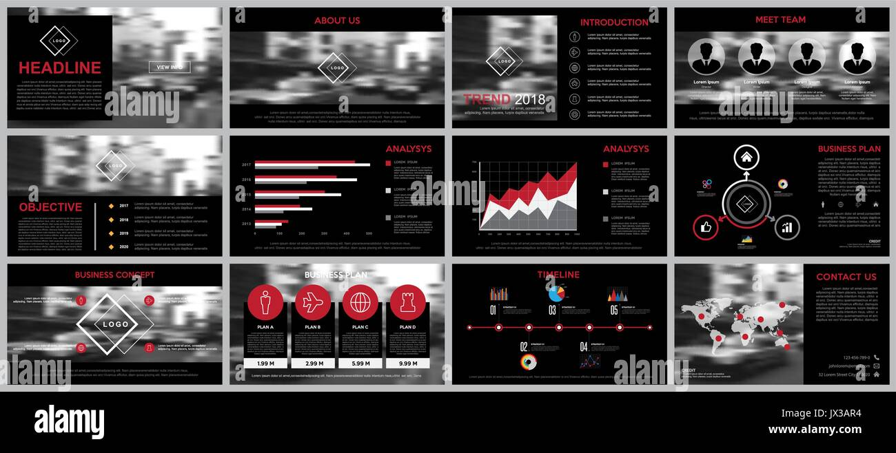 Design element of infographics for presentation templates.Use in business presentation ,annual report, book cover design template. Brochure, layout, - Stock Image